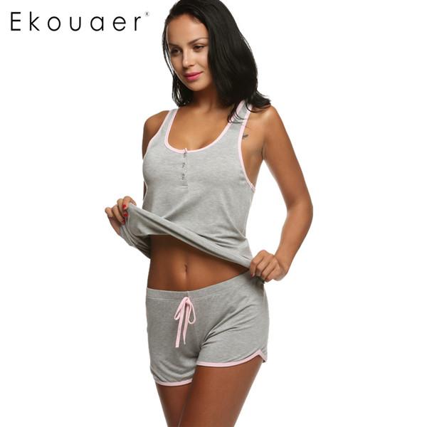 Acheter Ekouaer Femmes Short Sexy Pyjamas