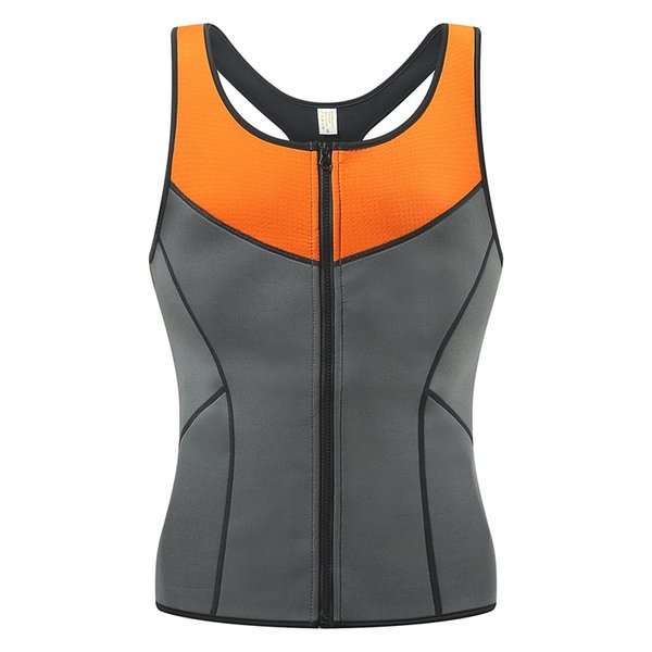 Neoprene Bodybuilding Fitness Tank Top Sport Shirts Ultra Sweat Vest For Men Running Exercise Camisillas Gym Men Weight Loss