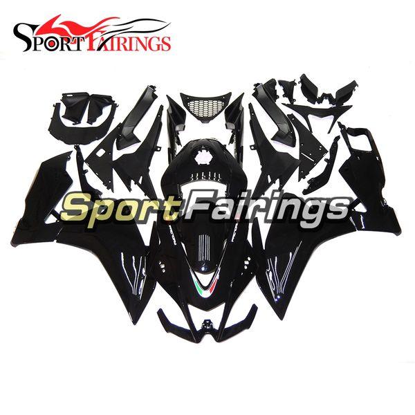 Plastica ABS Sportbike 12 13 14 RS125 Carene complete per Aprilia RS125 2012 2013 2014 Carrozzeria lucida Kit carenatura nera