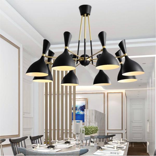 Großhandel Moderne Schlafzimmer Wohnzimmer Pendelleuchte Einfache  Restaurant Pendelleuchten Nordic Retro Eisen Led Beleuchtung Lampen Küche  Bar ...