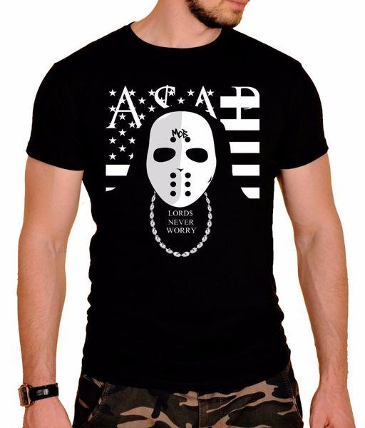 Create A Tee Short O-Neck Tall ASAP Rock Band T-Shirt Black New T Shirt For Men