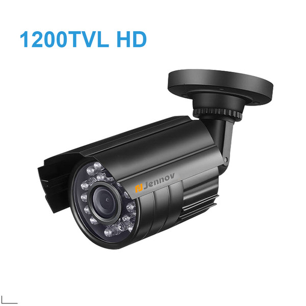 HD CMOS 1200TVL CCTV Camera Mini Dome Security Analog Camera indoor IR CUT Night Vision Surveillance Cam24 LEDS Lights For DVR