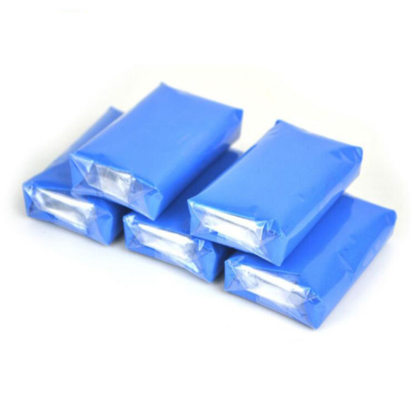 best selling Wholesale Auto Care 5pcs100g Magic Car truck Clean Clay Bar Auto Detailing Cleaner Car Washer Blue