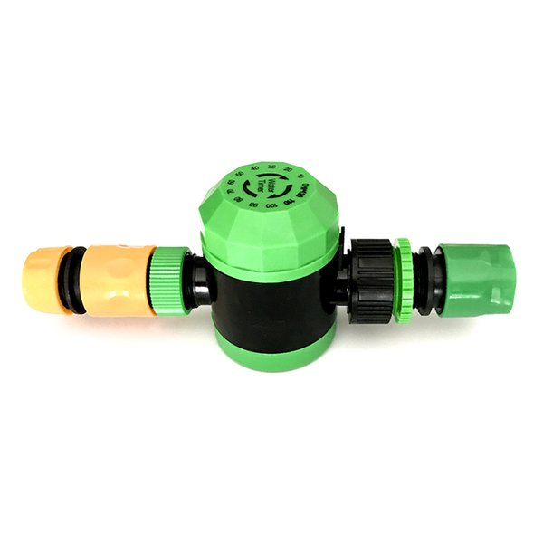 1 set (3Pcs) 2 Hour Water Timer with 1/2'' or 3/4''Quick Connector Mechanical Water Timer Garden Micro Fittings
