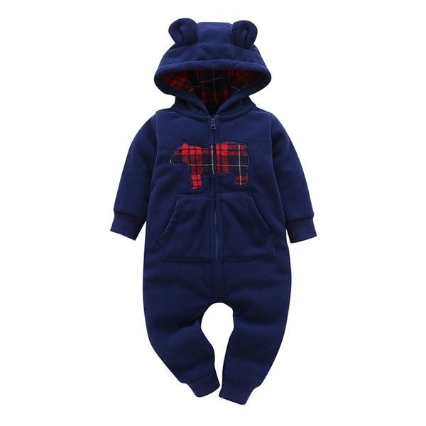 2018 Rushed Time-limited Full Workwear Children Baby Boy Girl Warm Toddler Tuxedo Cute Cotton Sweets Autumn And Winter Selling