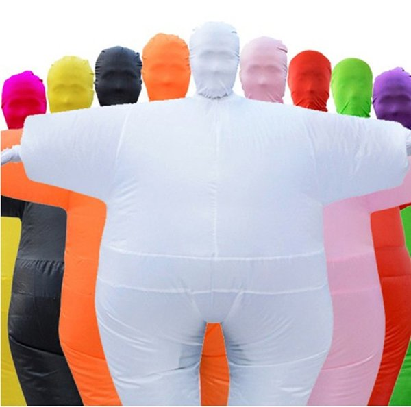 Adult Mascot Anime Cos Chub Suit Inflatable Blow Up Color Full Body Costume Jumpsuit 9 Colors halloween costumes for women Man WSJ-27