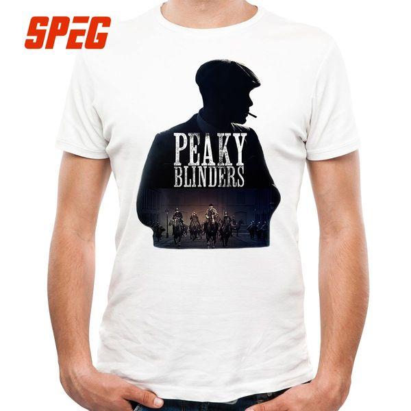 T Shirt Famous Design Peaky Blinders Vintage T Shirt Sale Teenage Cotton Short Sleeve Tee Shirt Hot Sale Men's For Male O Neck