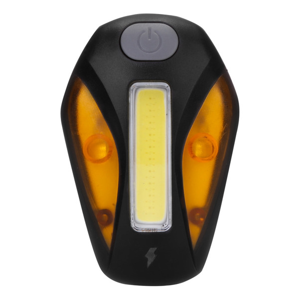 Comet USB Rechargeable Bike Cycling Front Flashlight Headlight Tail Light 120 lumens high brightness COB and SMD light straps