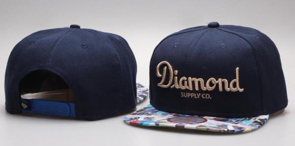 Snapback Sombreros Gorras Hombre Nuevo Estilo Snapbacks Ajustable Diamond  supply co Snap back cap Men Top 3fb463a8a7d