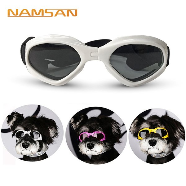 Creative Dog Cat Sunglasses For Teddy Puppy Ski Goggles Dog's Accessories Cute Pet's Goggles For Protecting Eye Cool Pet Supplies