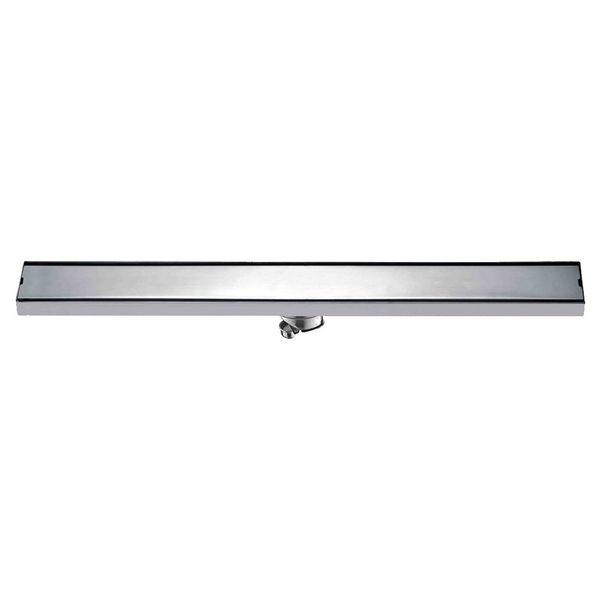 Bathroom Floor Drain 60cm 80cm 100cm 120cm SUS304 Stainless Steel Deodorization Side Row Shower Drains Brushed