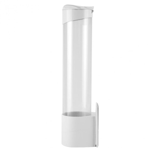 Automatic Disposable Paper Cups Storage Holder For Water Dispenser Disposable Cups Plastic 50 Cups Container Holder