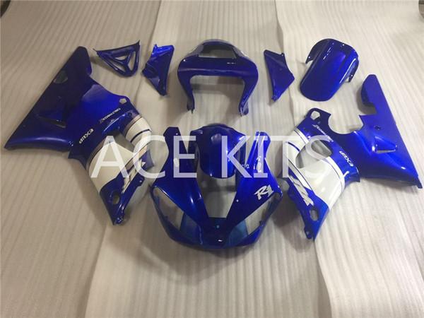 Spritzgussform Neue Verkleidungen für Yamaha YZF-R1 YZF R1 00 01 R1 2000-2001 ABS Kunststoff Karosserie Motorrad Verkleidung Kit Rot Weiß Q3