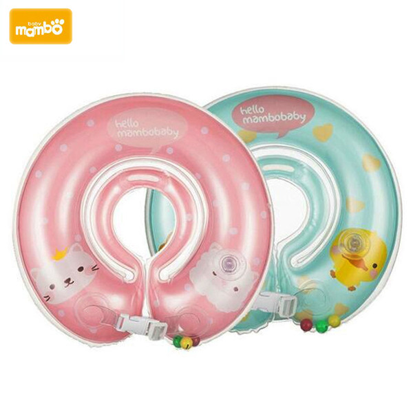 Mambobaby Baby Swimming Neck Float Ring Inflatable Kid Neck Float Safety Product Beach Accessories Baby Swimming Pool Accessories