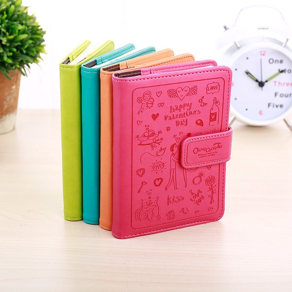 Fromthenon Creative Cute Soft Leather Cover NotDiary Book Kawaii Note Pad Korean Stationery Student Gift School Supplies