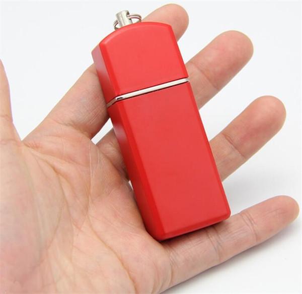 Mini cenicero con llavero. Cenicero portátil y portátil. Cenicero sellado. Accesorios de cigarrillos de protección ambiental al aire libre.