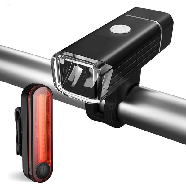 Bicycle Front/Tail Light Set For Road/Mountain Bike BMX Waterproof High Quality Ultra Bright 2modes Safety Night Cycling Lights