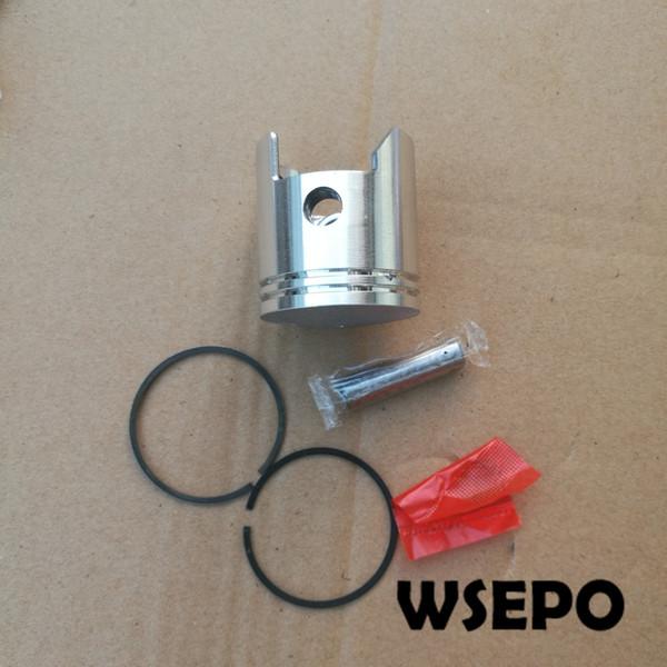 Approvisionnement direct d'usine et qualité OEM! Piston + Segments de piston et kit de goupilles pour moteur à essence 2 Strock 1E43F