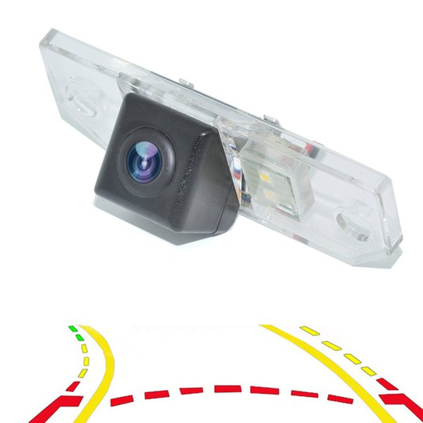Intelligent Dynamic Trajectory Tracks Parking Line Car Rear View Reverse Backup Camera For Ford Sedan Focus Mondeo C-Max 2000-2010