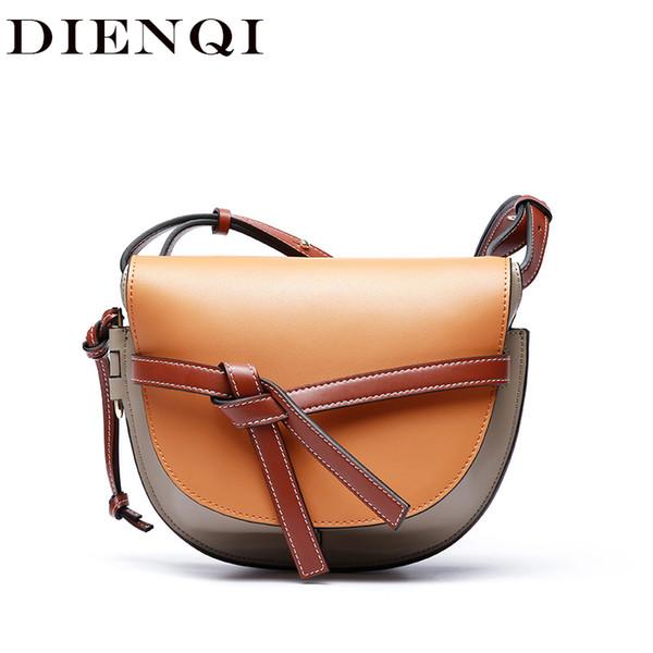 DIENQI известных enuine кожа сумка Роскошные сумки женщин сумки дизайнер ну вечеринку дамы кроссбоди Сумка мешок основной роковой