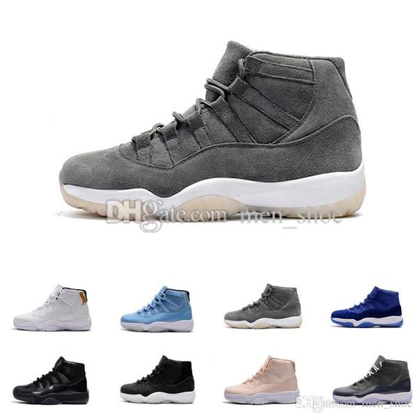 Venta al por mayor (11) Zapatillas de baloncesto XI Breds 11 Zapatillas deportivas Space Jam para hombre Zapatillas deportivas Botas atléticas 11 Zapatillas de deporte XI para hombre