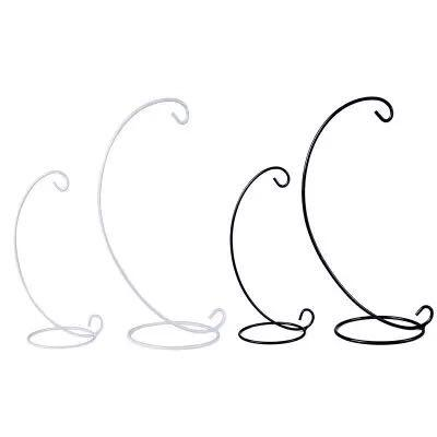 Candle Holder Display Stand Semicircle Half Round Shape Iron Rack DIY Glass Ball Hook Frame Micro Landscape New Arrival