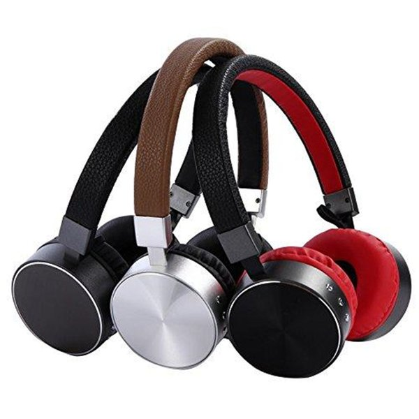 New Bluetooth Headphones with Microphone Noise Cancelling Wireless Wired Earphones Handfree Stereo Headset for Cell Phone/TV/ PC Gift