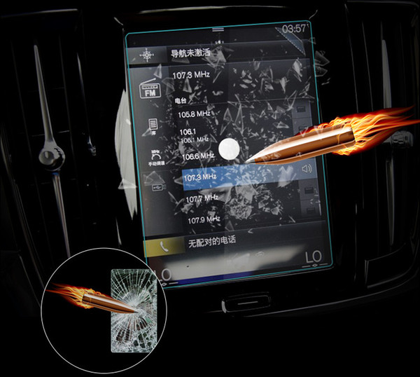 Car GPS Display Tempered Glass Screen Protector For VOLVO XC60 2018 2019  Car Interior Accessories Uk Car Interior Accessory From Electronicworld001,