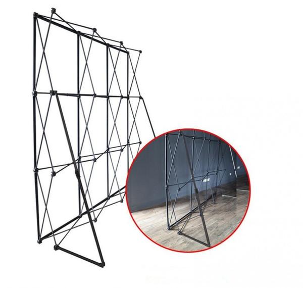 20ft * 10ft Marco de soporte de pared de flor de aluminio para Tradeshow Tensión recta Banner Exposición Soporte de exhibición Exhibición comercial Pared
