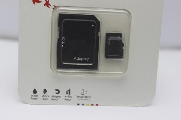 128 GB 64 GB 32 GB ADATA cartão Micro SD Cartão de Memória TF 128 GB Micro SD SDHC Flash Cartões Com Adaptador de Pacote de Varejo para samsung huawei 80 pçs / lote