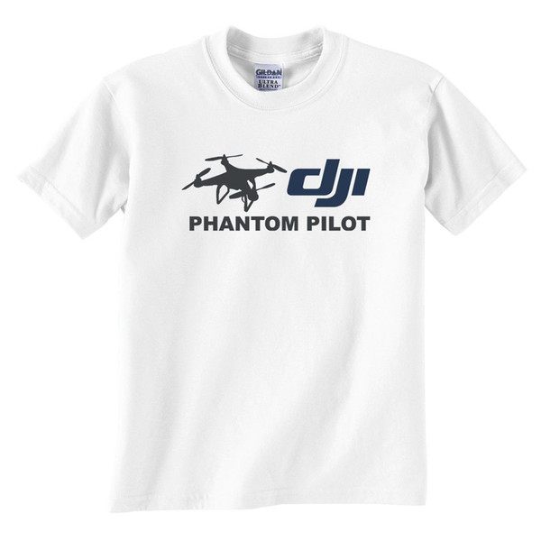 Dji Phantom Pilot Drone weißes T-Shirt