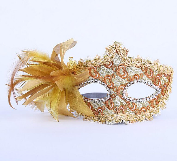 a70 wholesale States million Christmas Flowers point drill mask party mask mask red star section jewelry maskes