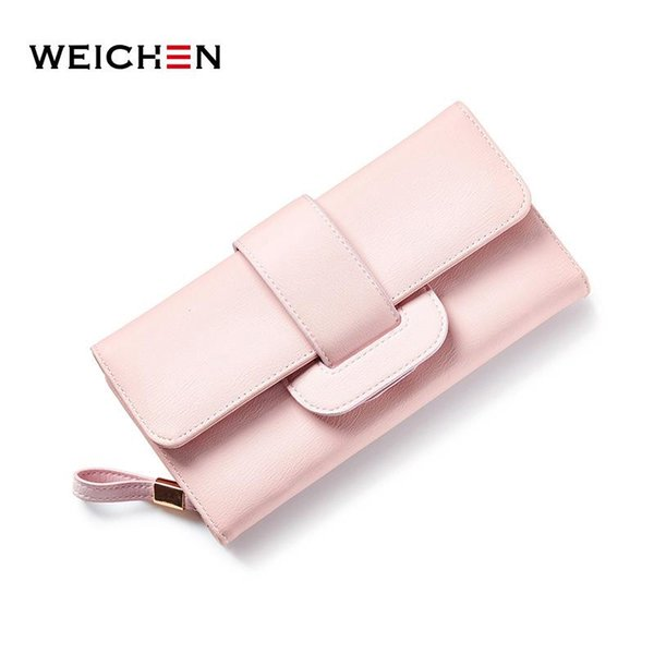 Long Wallet Women Brand Designer Casual Solid Money Purse Coin Phone Pocket Ladies Clutch Wallets Female Card Holder Bag