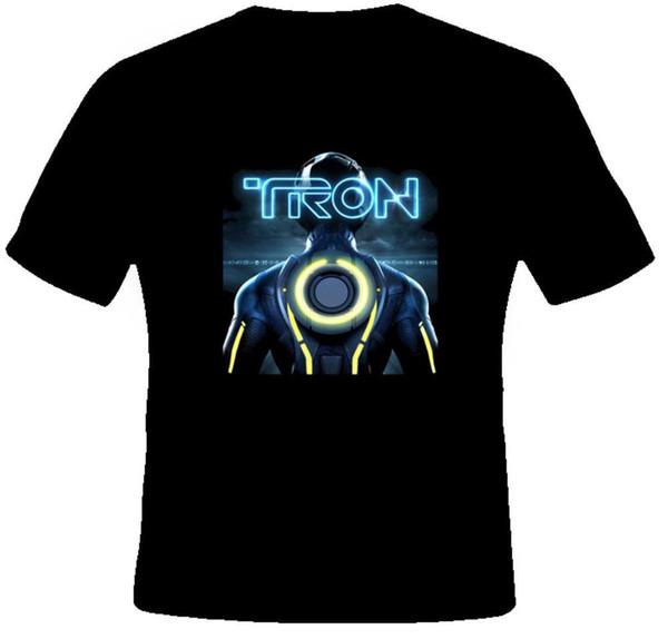 Tron Video Game Movie Cool T Shirt Men T shirt Short Sleeve Print Casua Print T Shirt For Men 2018