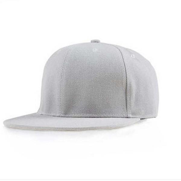 baseball cap for girls Fashion Unisex Plain Snapback Hats Hip-Hop Adjustable Baseball Cap Adjustable Sunshade casquette hat A8