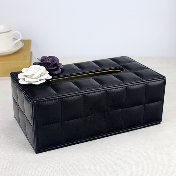 top popular Fashion style Bright drill the texture of paper towel box 2020 fashion tissue box 2021