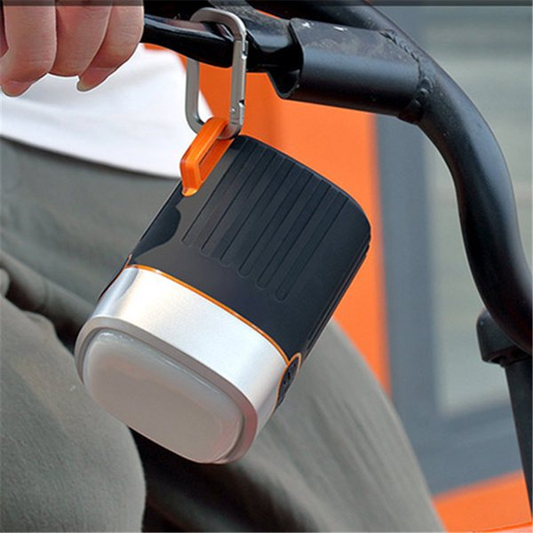 Outdoor Sports Portable Bluetooth Speaker Bike Wireless Music Speaker Support With LED Flashlight Clip SD Card FM Radio Waterproof Speaker