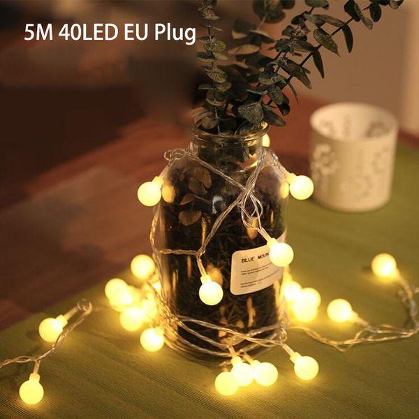 5m40LED EU Plug