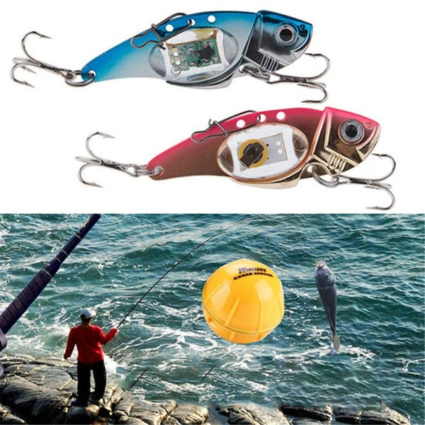 Outdoor Flashing Sports Night LED Light Fishing Lure Treble Hook Electronic Fishing Lamp Bait Tackle Fish Lure