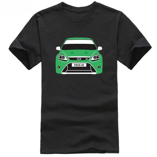 CUSTOM HTees T-shirt - FORD FOCUS RS Mk2 (2009-), Pick car colour & plate S-XXXL jacket croatia leather tshirt