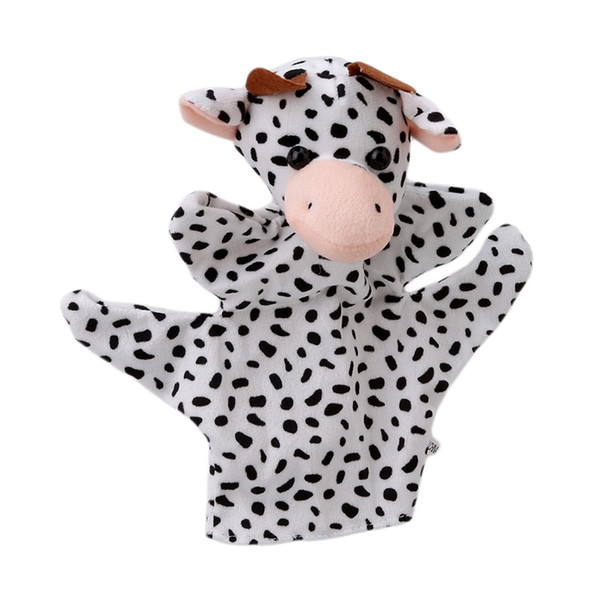 1PCS Funny Big Size Zoo Farm Animal Hand Glove Sack Puppet Hand Dolls Cute Big Size Finger Sack Plush Toy New arrival