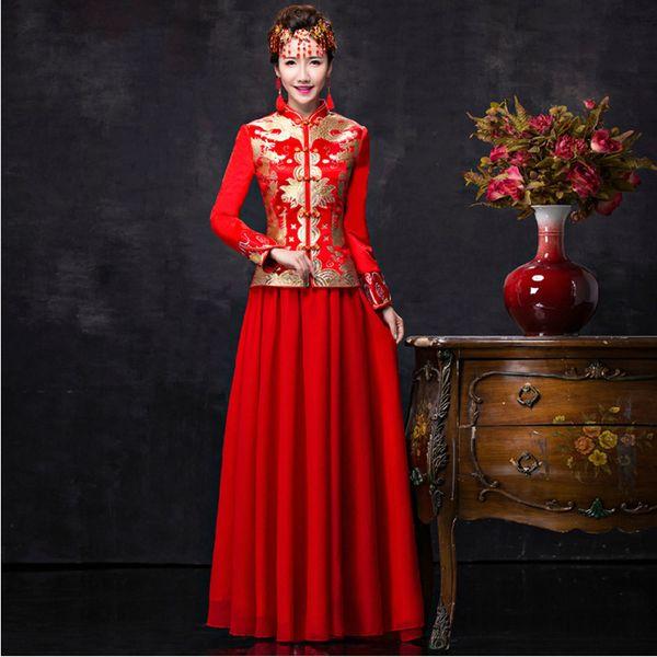 EG /_ Menge Damen Abendkleid Ball Shorts Cheongsam Qipao Chinesisch Traditionell