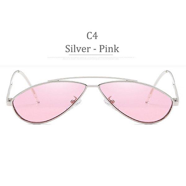Obiettivo rosa in argento C4