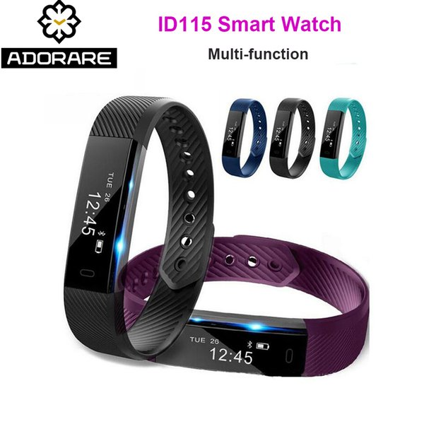 ADORARE Original ID115 Sports Smart Watch Men Woman Fitness Tracker Bracelet Step Counter Activity Alarm Clock Wrist Watch S915