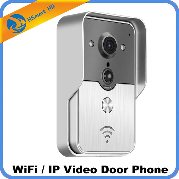 Wifi Video Door Phone Bell Wireless Intercom Support SD Card POE Power supply Wifi 3G IOS Android for iPad Smart Phone Tablet