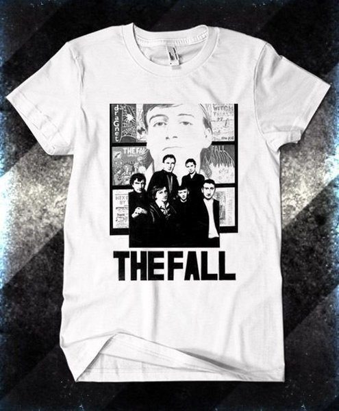 2018 Latest Funny Men Crew NeckThe Fall English post-punk Band The Jesus and Mary Chain T-shirt S M L XL 2XL