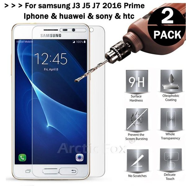 1pcs Glass Samsung Galaxy J3 J5 J7 2016 2017 Tempered Glass for Samsung Galaxy A3 A5 A7 Screen Protector for iphone5 iphone6 E199