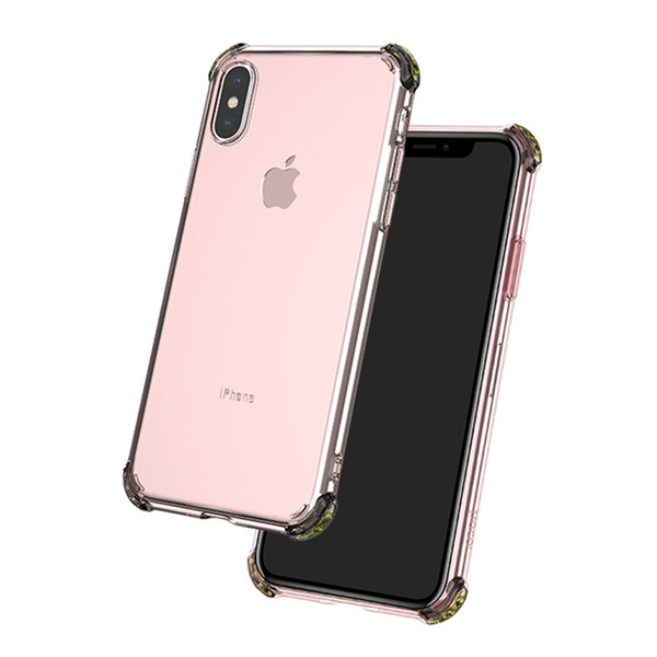 HOCO For Iphone XR Case Clear Soft Gel TPU Shockproof Back Cover Phone Cases for Iphone XS XS Max