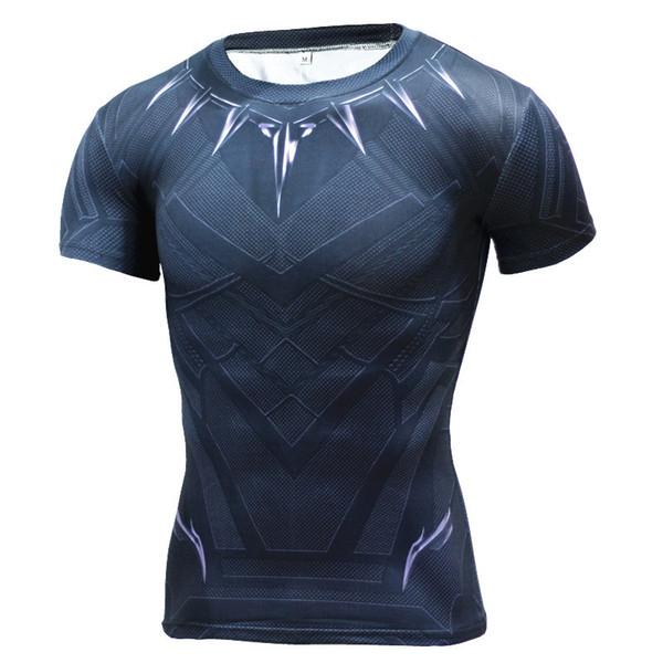 Новая Фитнес-Компрессионная Рубашка Мужская Аниме Супергерой Каратель Череп Капитан Америка 3D Футболка Бодибилдинг Футболка Crossfit