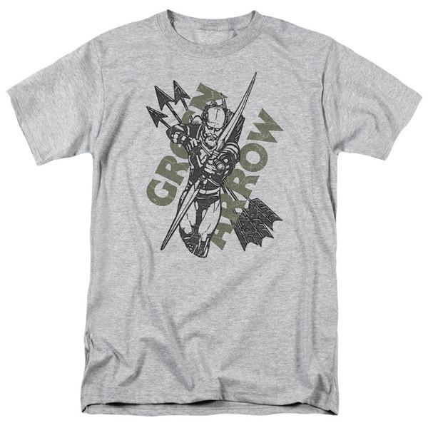 Green Arrow Archer Pfeile DC Comics lizensiert Erwachsenen T-Shirt